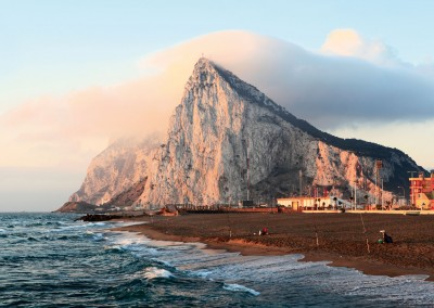 Gibraltar at Sunrise